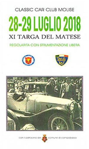 XI Targa del Matese 2018